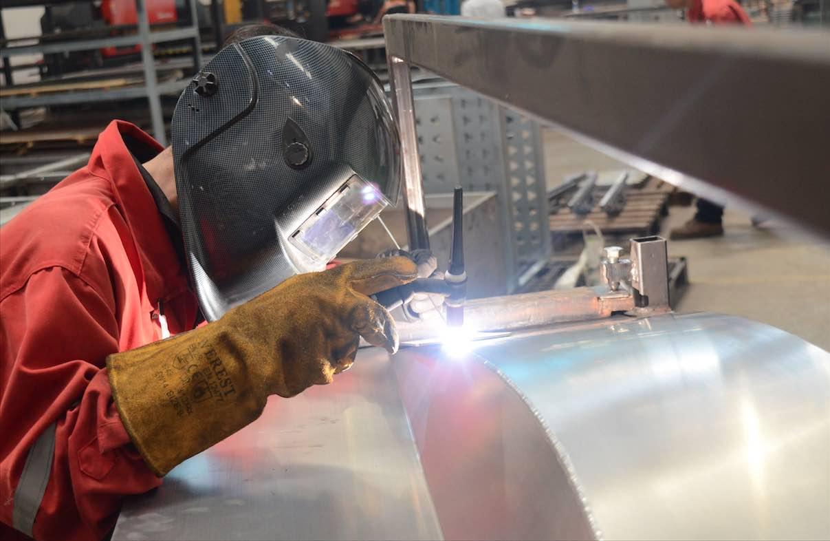 aluminum welding services at metal fabrication companies in vietnam