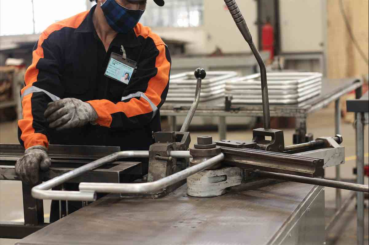 tube bending services at australian general engineering vietnam