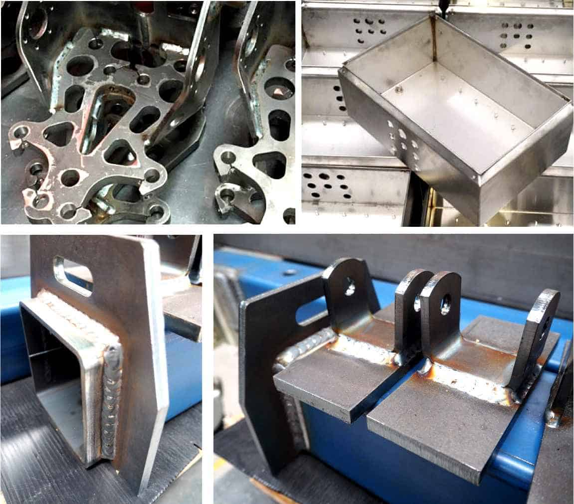 welding pieces in sheet metal fabrication services at australian general engineering vietnam