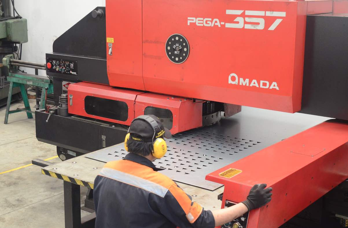 cnc turret punching services fabrication in vietnam